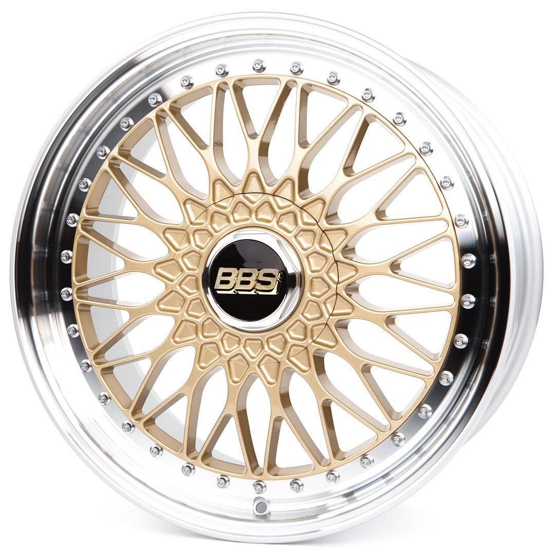 BBS Super RS gold diamantgedreht | ✪ felgenoutlet.com