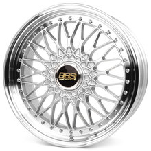 BBS Super RS brillantsilber/diamantgedreht