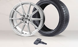 R3 Wheels R3H03 alloy rims with TPMS sensors