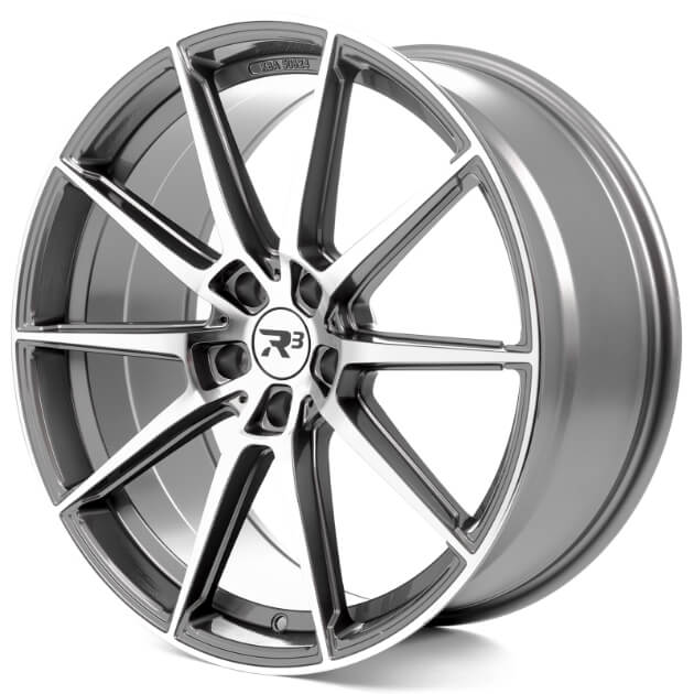 R³ Wheels offers attractive wheel designs with an outstanding price-performance ratio but that's not all: a lot of time, care and attention to detail is invested in development in order to create a product that meets all the requirements of a rim.